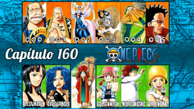 One Piece #160 – Baroque Works Reunida!!