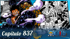 One Piece #837 – Luffy VS Cracker!!