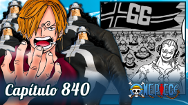 One Piece #840 – Os Clones de Vinsmoke Judge e Vegapunk!