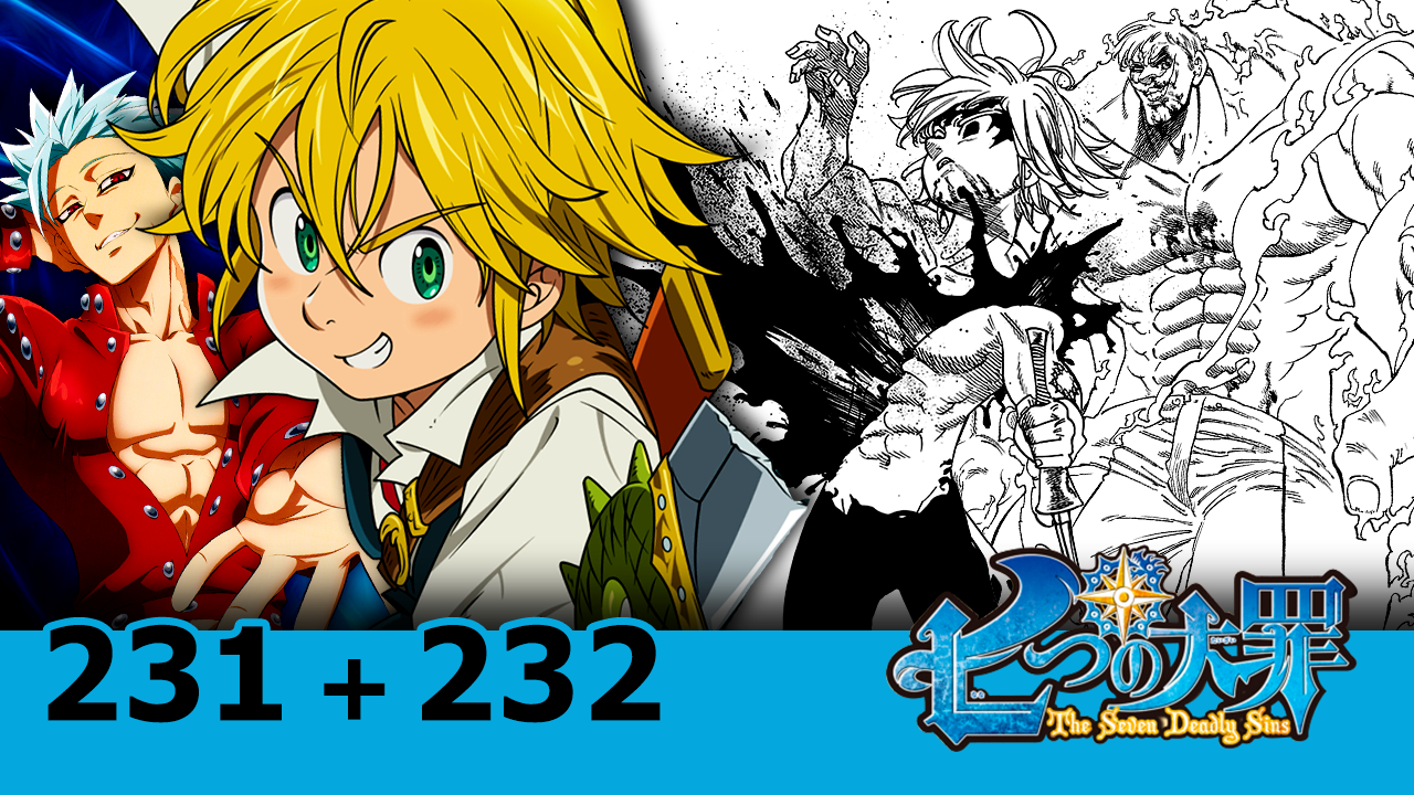 pico escanor vs meliodas nanatsu no taizai 231 e 232 all blue. Black Bedroom Furniture Sets. Home Design Ideas